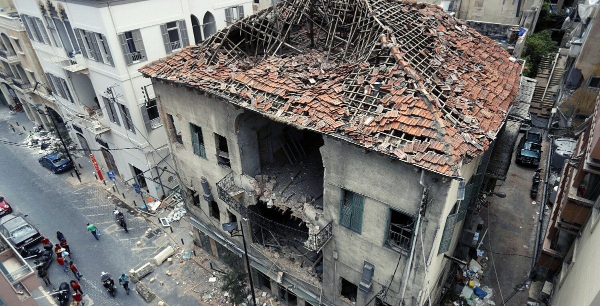A Quarter Of Heritage Buildings In Beirut Are On The Verge Of Collapse