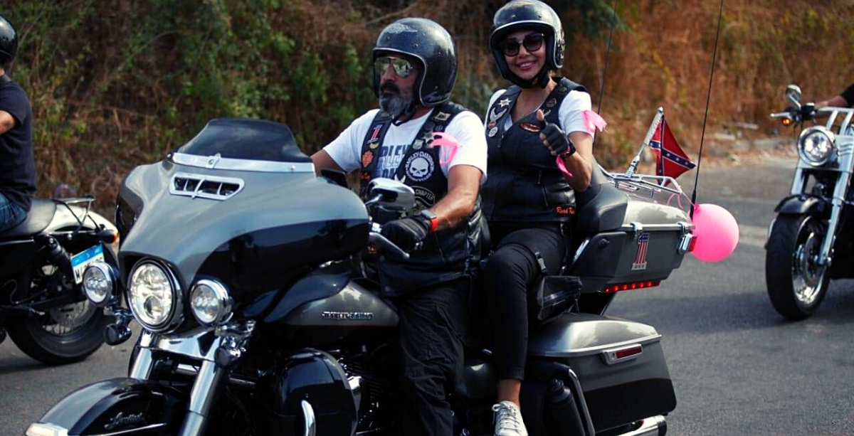 Dozens Of Bikers Rode Around In Lebanon To Raise Awareness About Breast Cancer