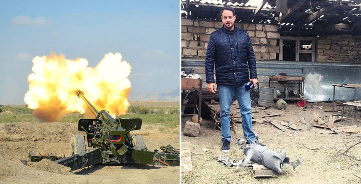 How LBCI's Crew Survived Heavy Shelling In Nagorno-Karabakh