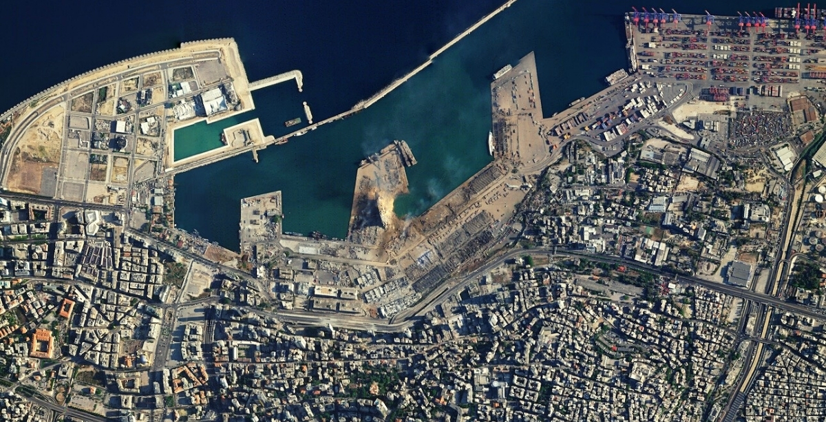 Lebanon Hasn't Received Beirut Blast Satellite Images It Was Expecting From France, Italy