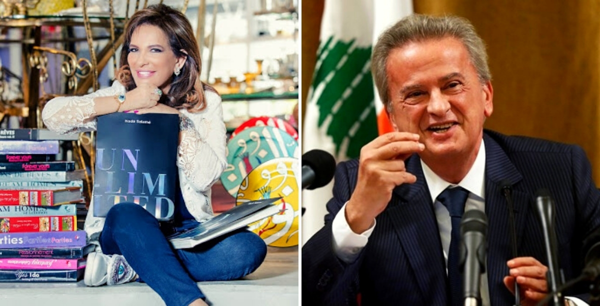 Protesters Crash Birthday Party Of Riad Salameh's Wife