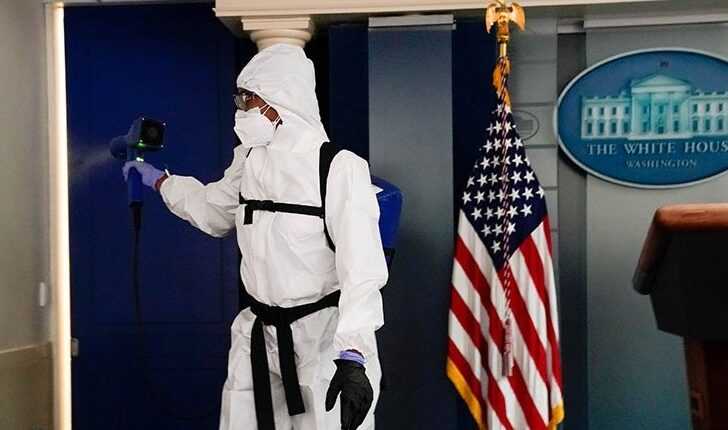 Sanitization in the White House