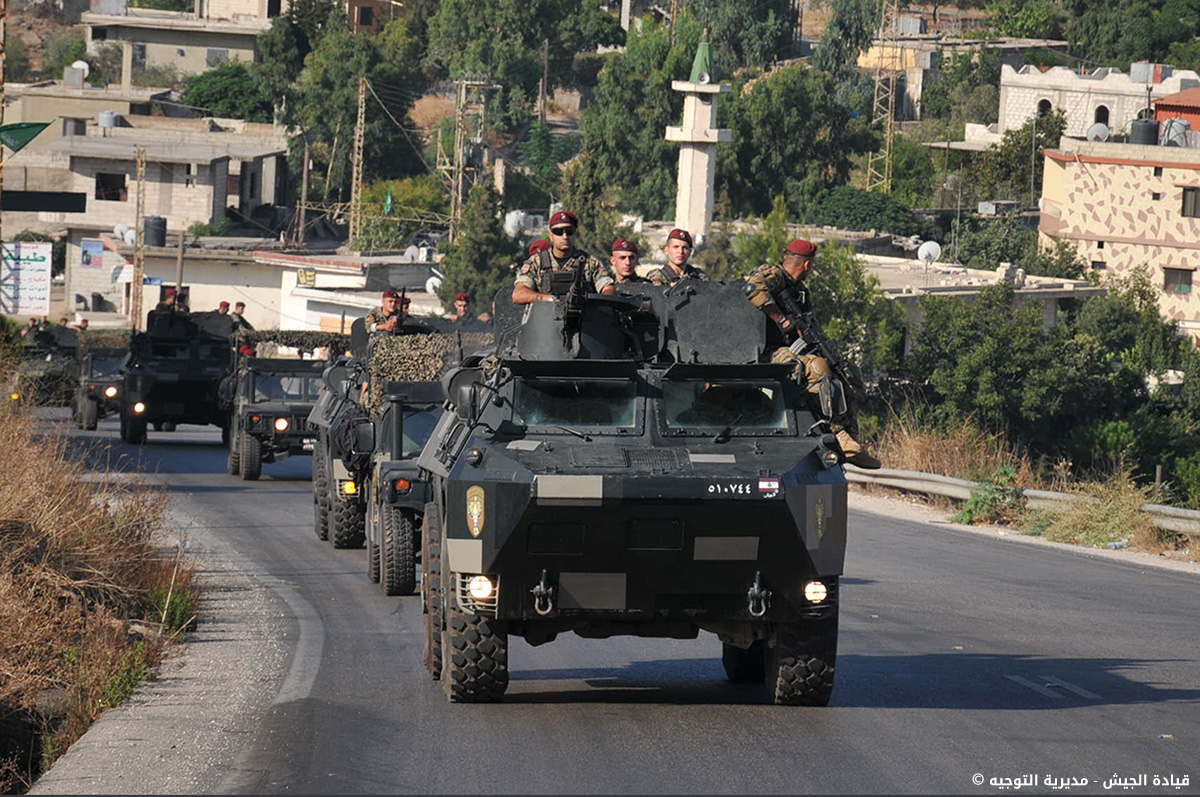Lebanese Army special forces.