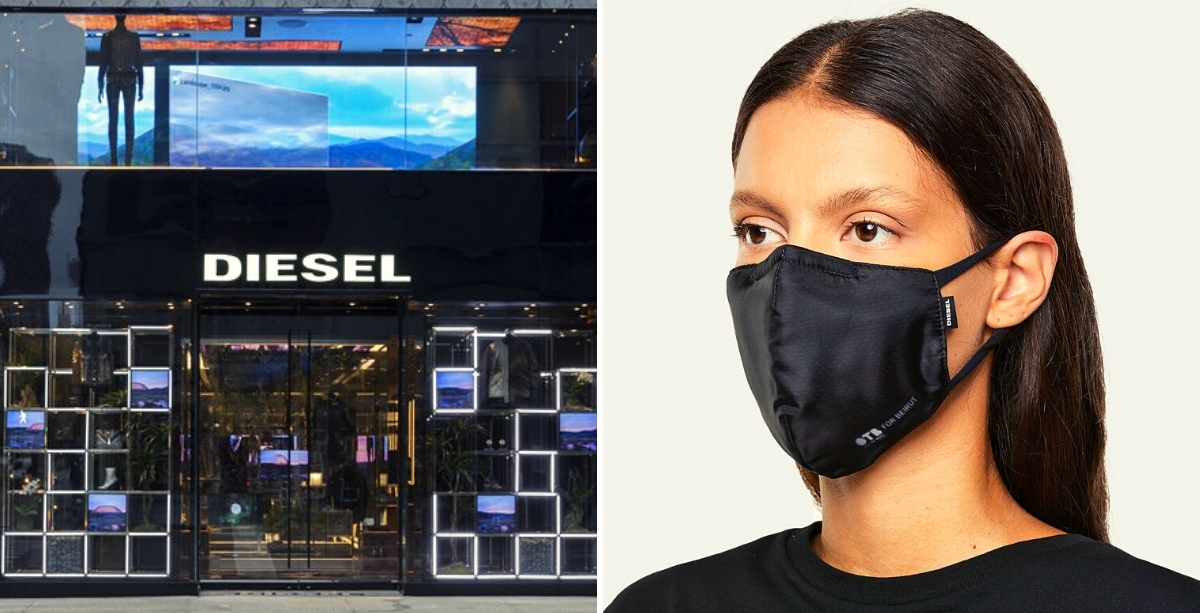 Diesel Launches Limited-Edition Face Masks To Support Beirut