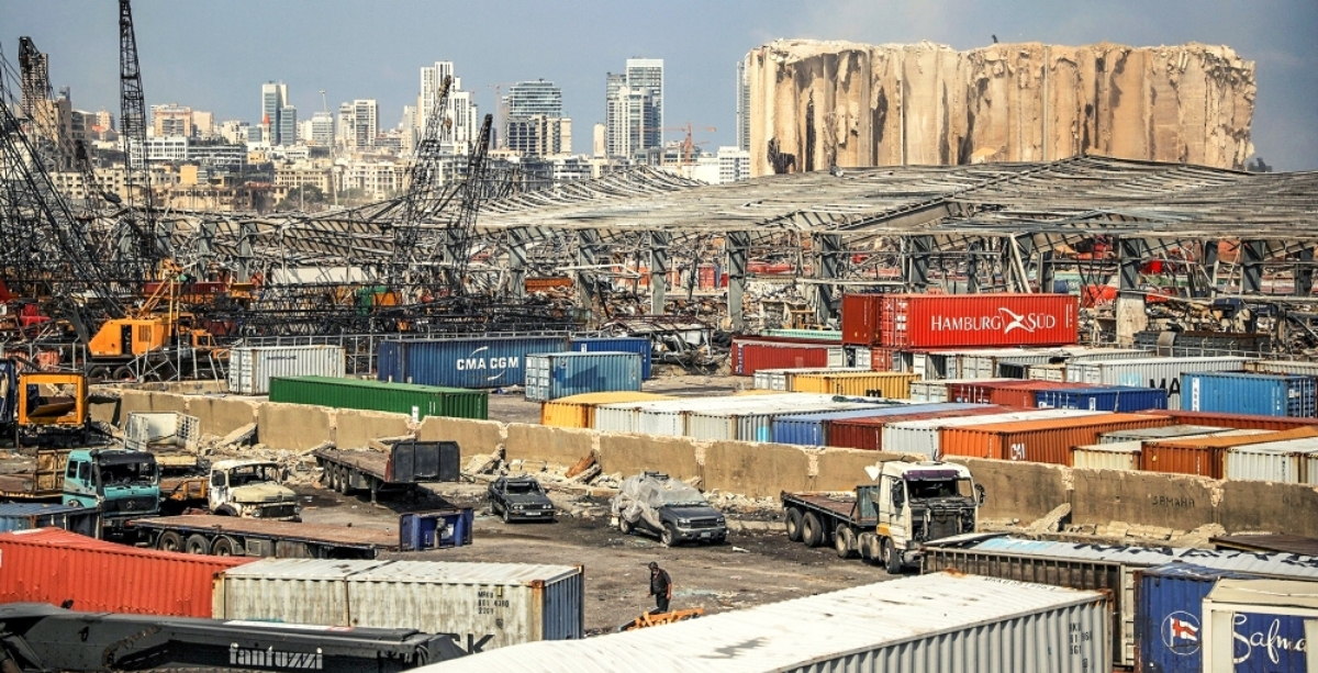 Lebanon Is Removing Dangerous Materials From Beirut Port