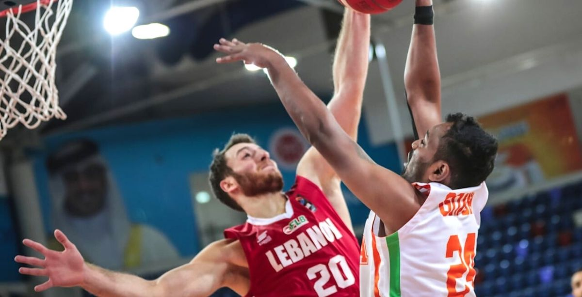 Lebanon Just Beat India In The Asia 2021 Cup Basketball Qualifiers