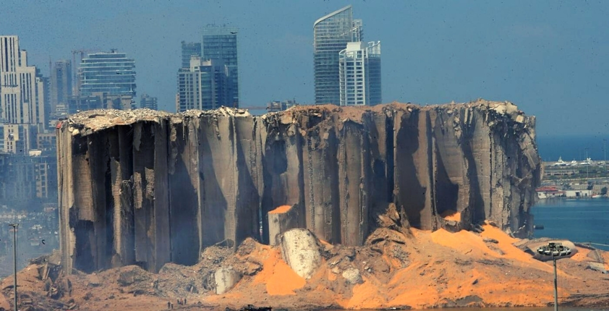 Lebanon Will Demolish Beirut Port Silos That Protected The Rest Of Beirut