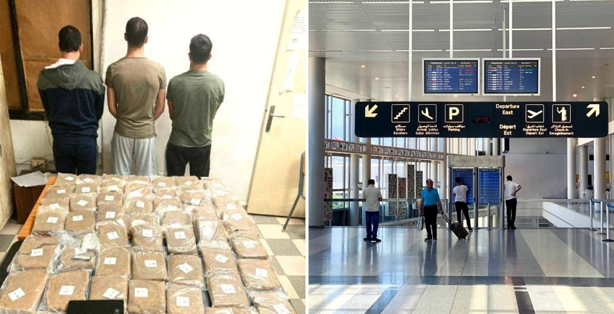 Man Caught Smuggling Cannabis In Loudspeakers Through Beirut Airport