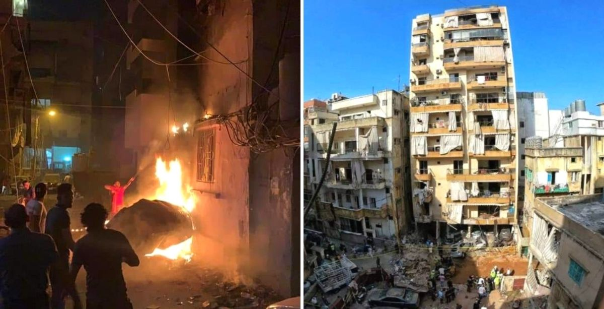 Man Indicted In Beirut Fuel Tank Explosion