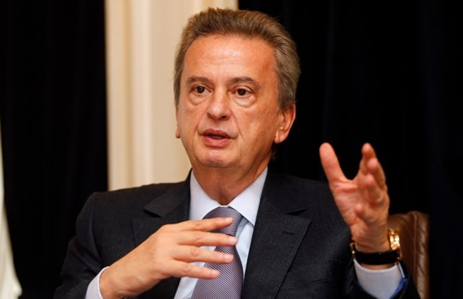 Central Bank Governor Riad Salameh.