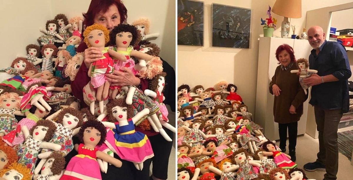This Woman Has Been Making Dolls For Girls Affected By Beirut Explosion.