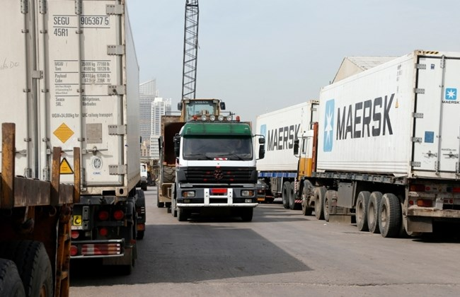 The drivers had entered Syria last month, as they regularly did before, to deliver loads of sand.
