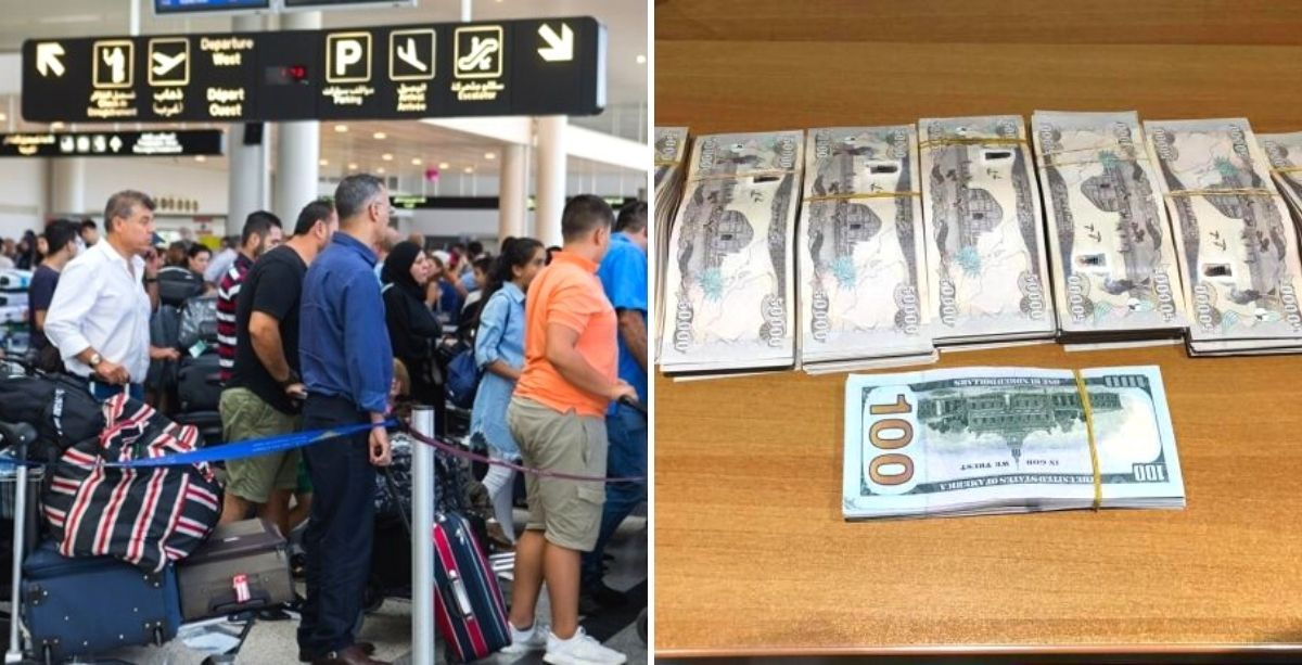Beirut Airport Security Seized A Bag With Counterfeit Money And An Unusual Story