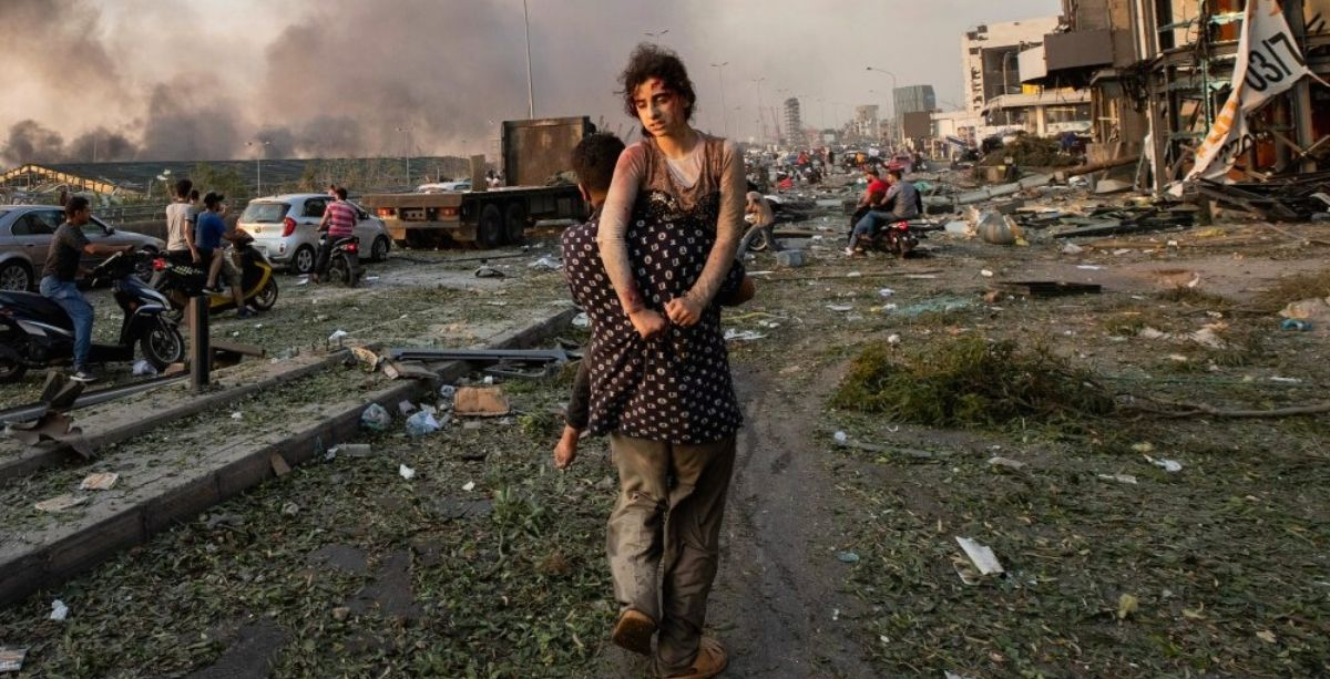 Beirut Explosion Picture Among Time's Top 10 of 2020