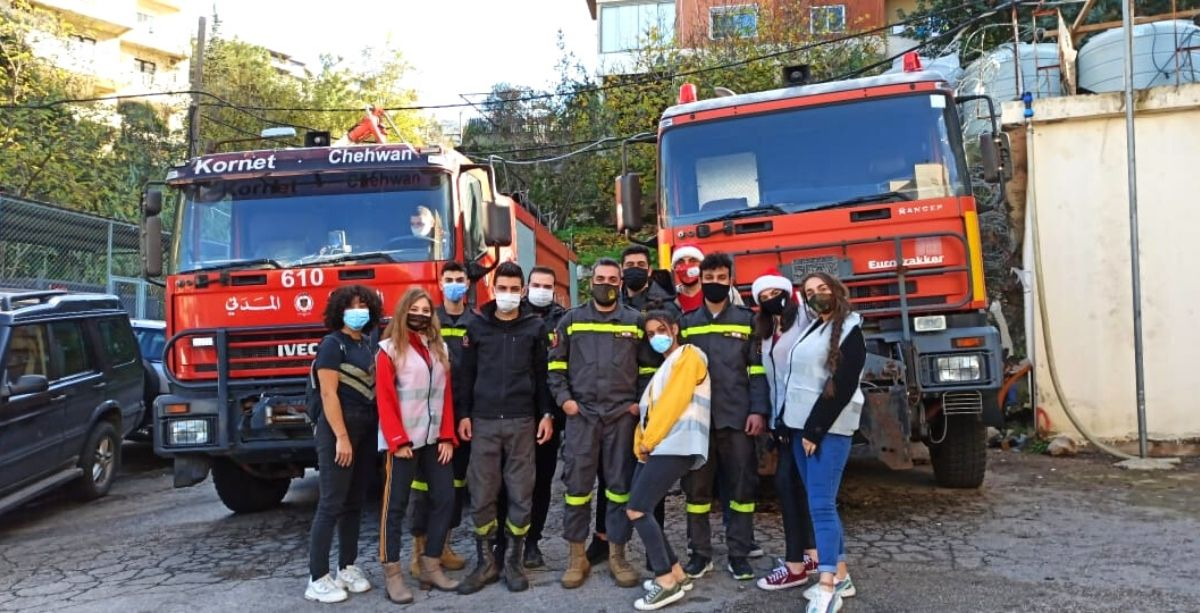 Civil Defense Volunteers Active During Holiday Received 1,000 Free Meals.