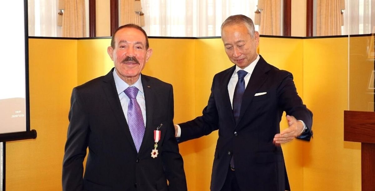 Head Of Lebanese Judo Federation Just Received Japan's 'Order Of The Rising Sun