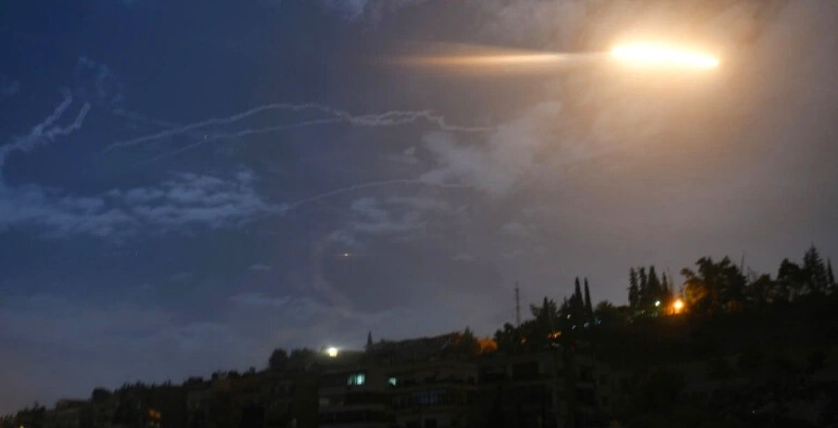 Israel Attacked Targets In Syria From Lebanon