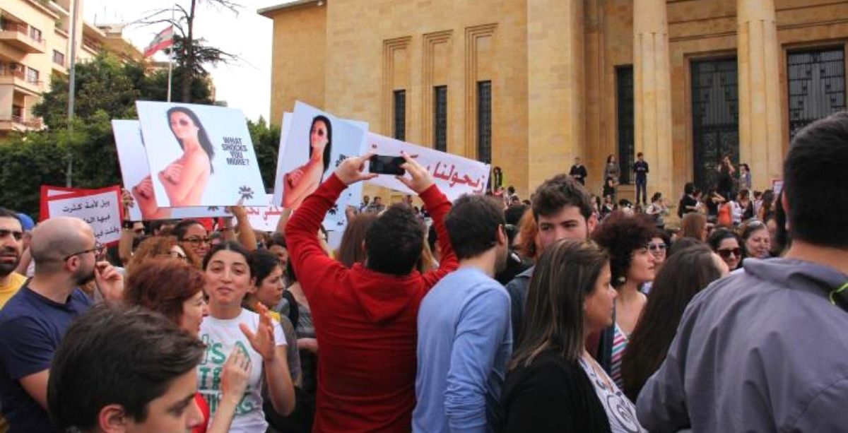 the Lebanese Parliament passed a modified law that further protects women and household members from domestic abuse.