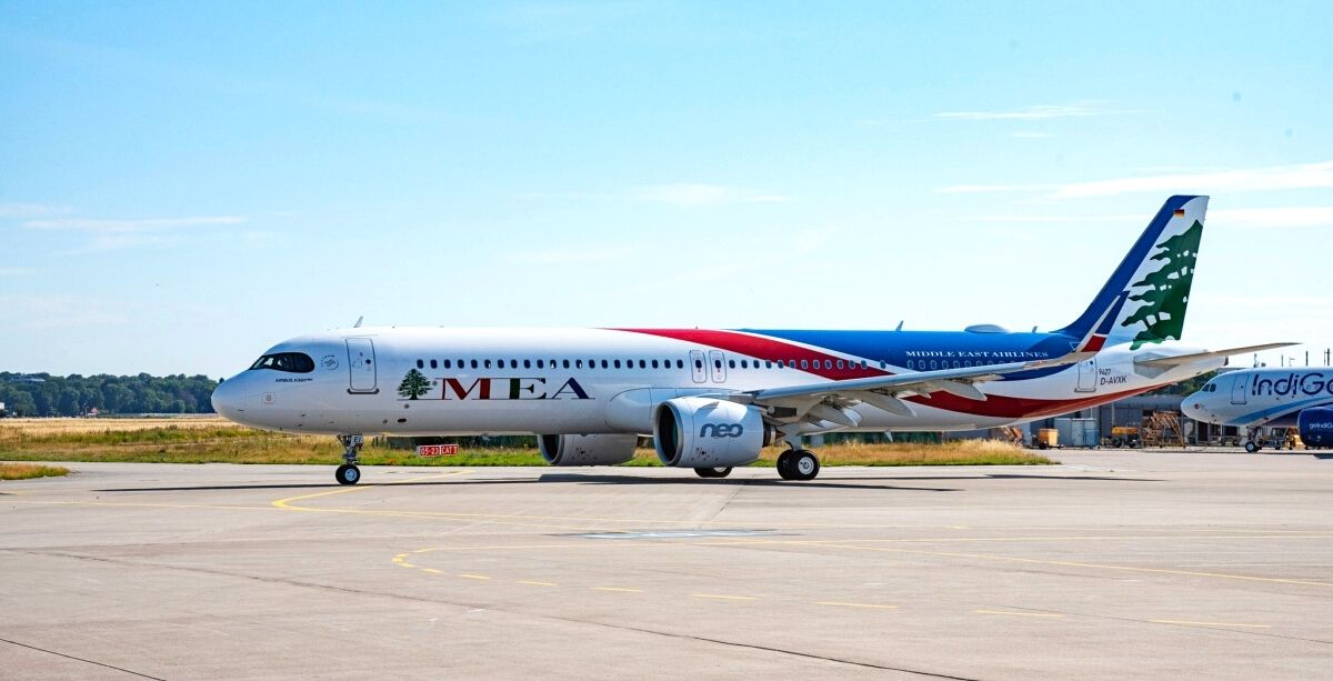MEA Just Added 2 New Airbus A321neo's To Its Fleet