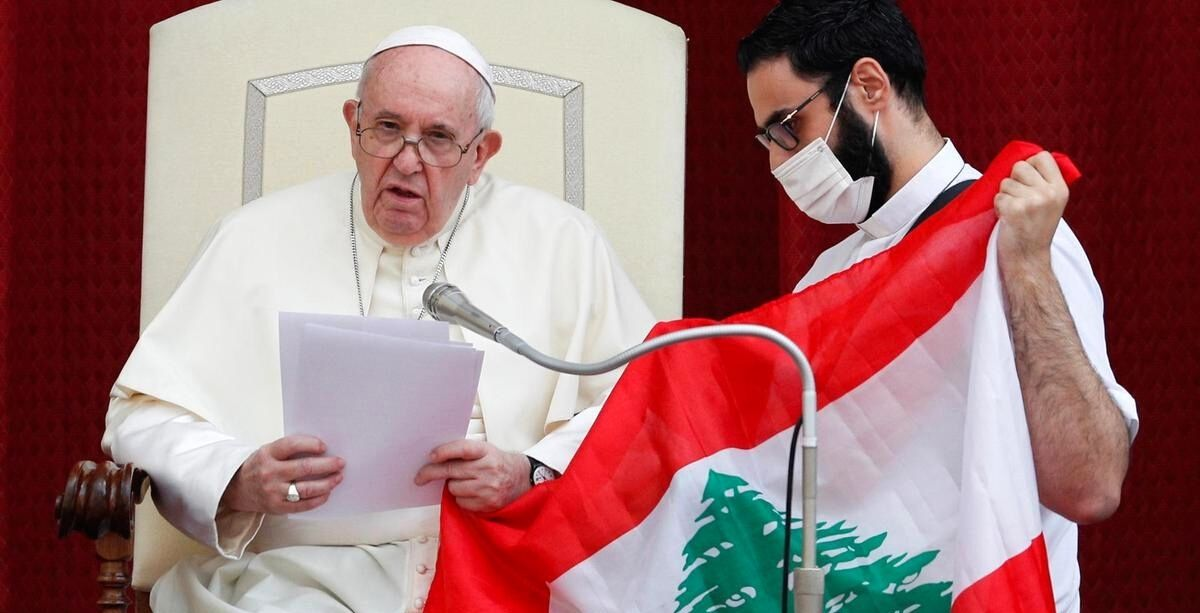 Pope Francis Just Announced He Wants To Visit Lebanon ASAP
