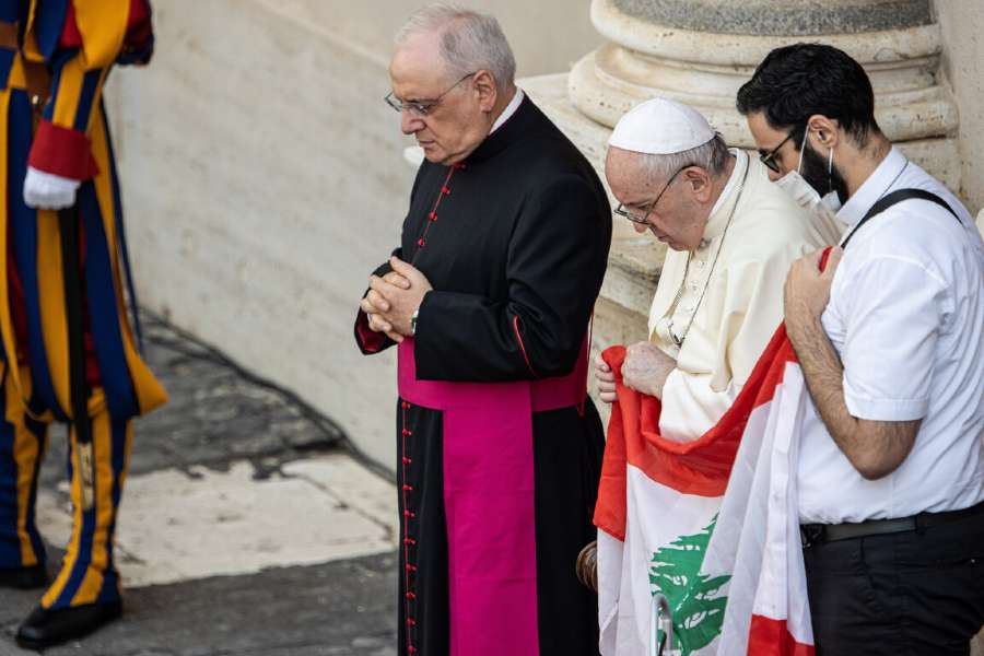 The Pope recently declared a universal day of prayer and fasting for Lebanon.