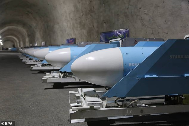 The Islamic Revolutionary Guard Corps (IRGC) of Iran has unveiled a large underground missile base.