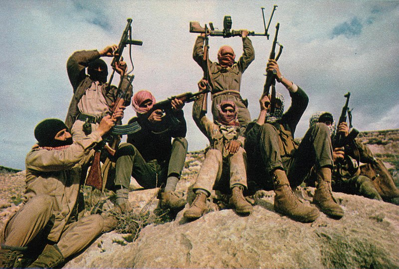 Popular Front for the Liberation of Palestine guerillas in Jordan, 1969.
