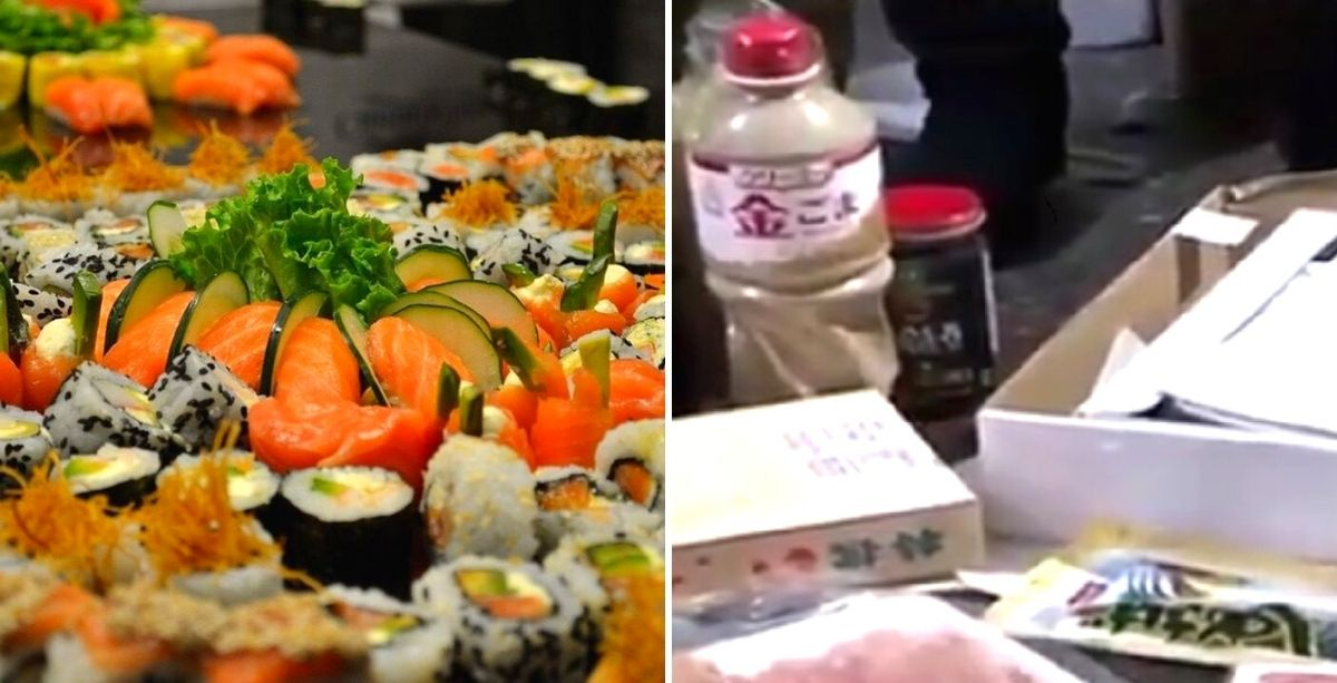 9 Tons Of Expired Sushi Ingredients Found In Warehouse Supplying 200+ Restaurants In Lebanon