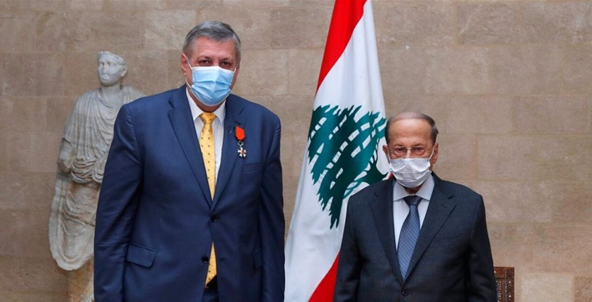 Lebanon Says Goodbye To Jan Kubis With The National Order Of The Cedar