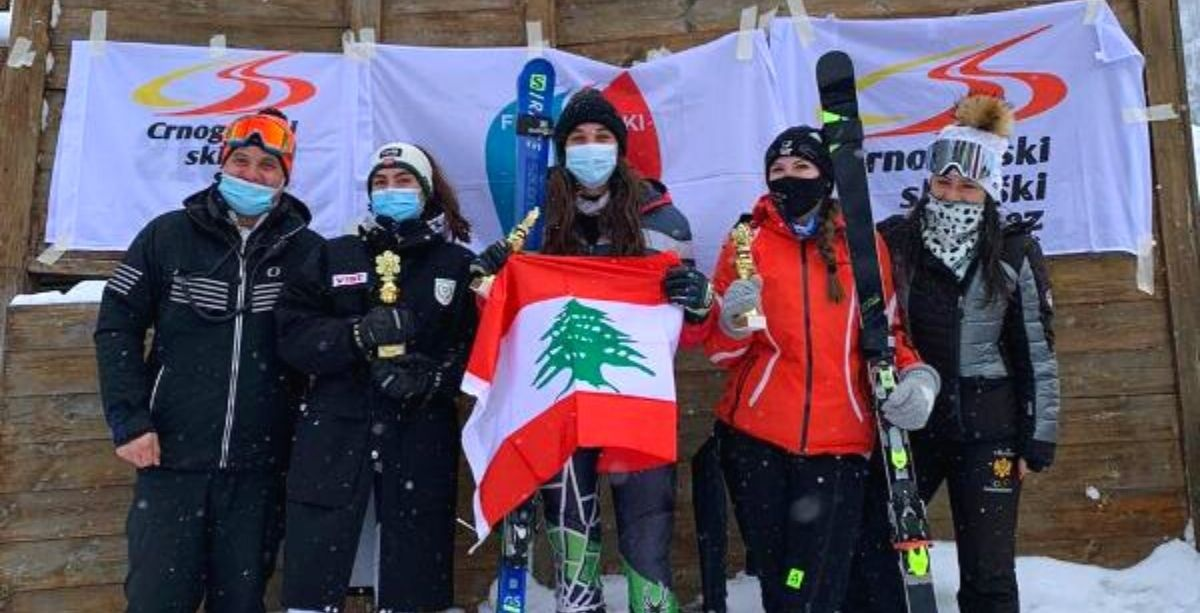 Lebanon Women's Team Wins 1st Place In Int'l Skiing Competition