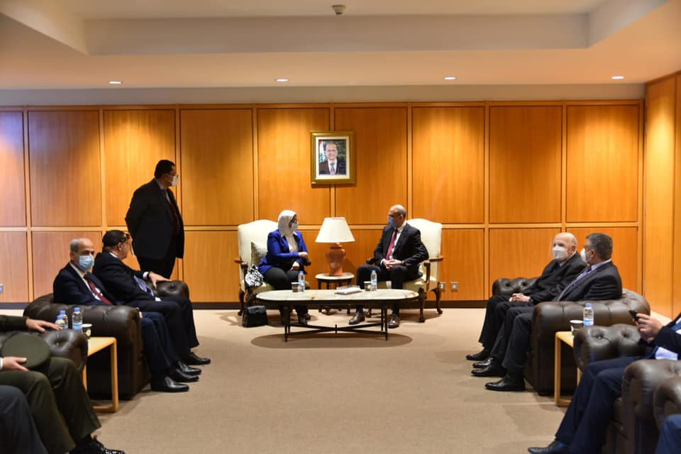 Caretaker Health Minister Hamad Hasan meets his Egyptian counterpart on Thursday.