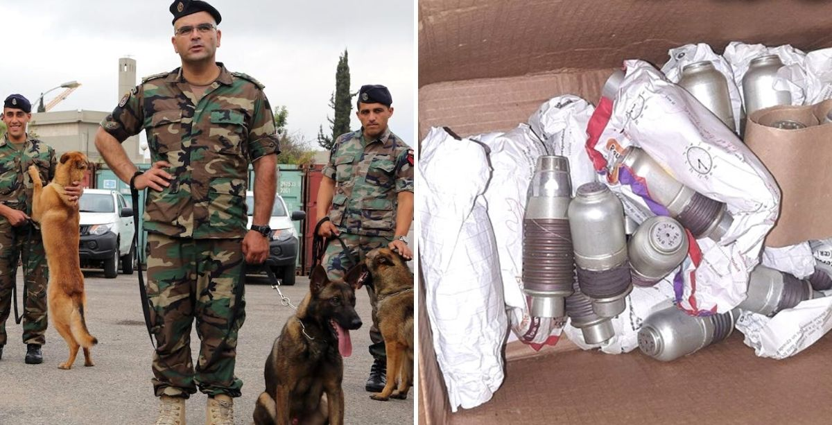 Lebanese Army Seizes Firearms & Ammunition During Raids In Northern Lebanon