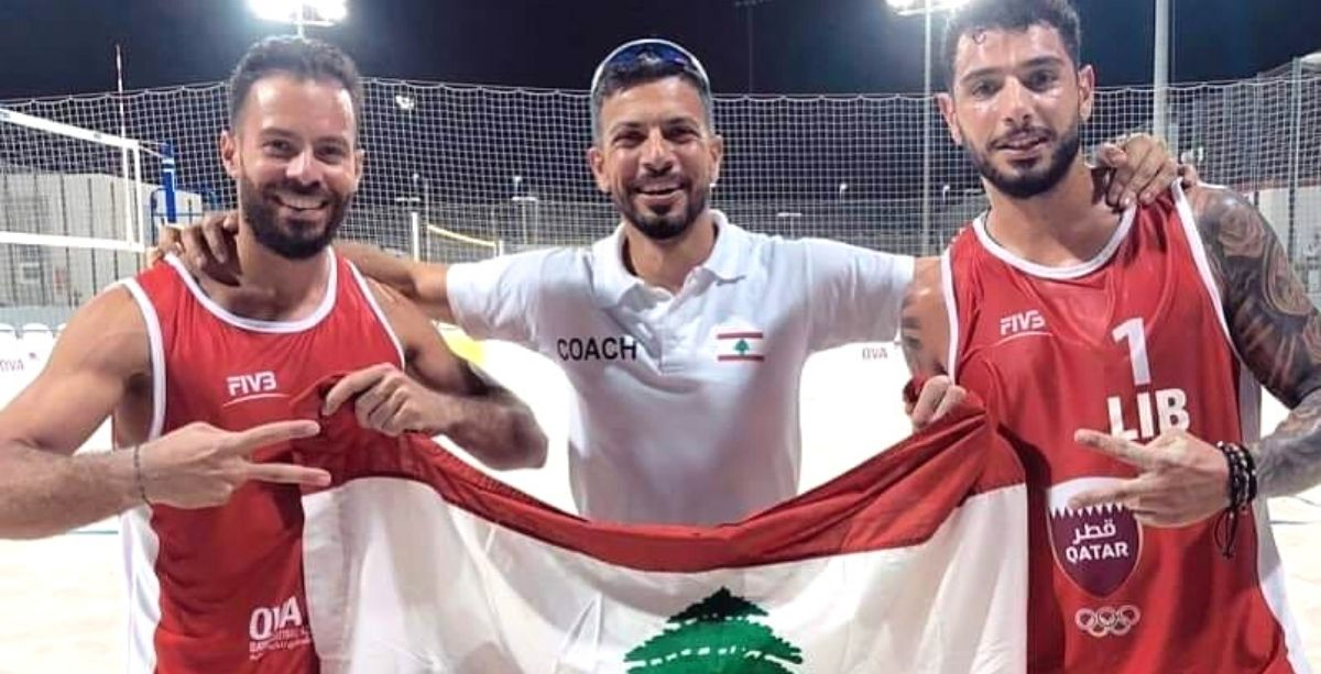Lebanese Duo Just Qualified To 12th Round Of Int'l Volleyball Tournament