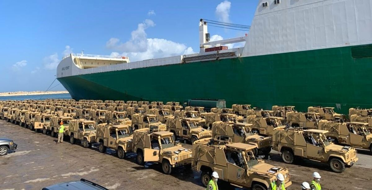 Lebanon Just Received 100 Armored Land Rovers From The UK