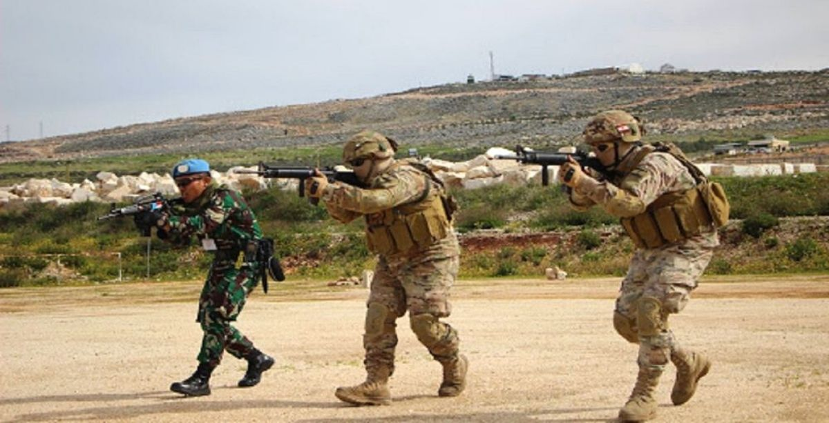 The Lebanese Army Did Urban Combat Training With French Troops