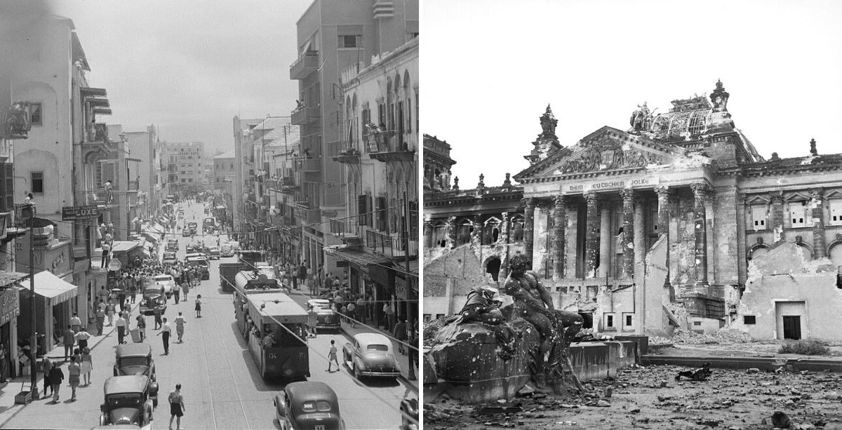 The Time Lebanon Declared War On Nazi Germany