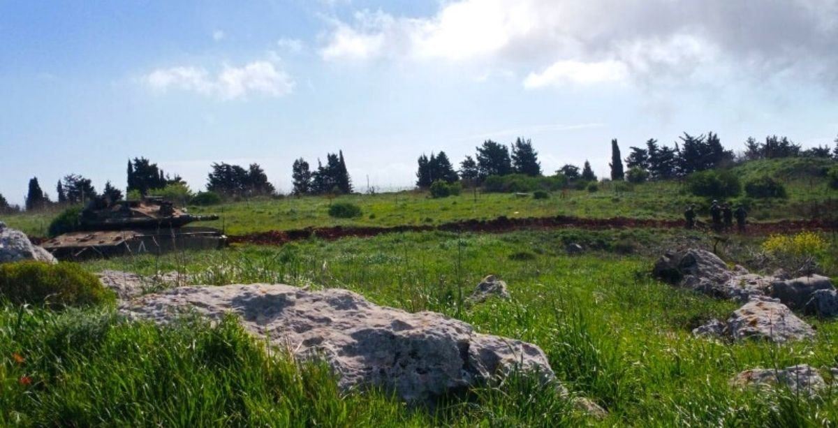 Israel Is Building A Road Off The Southern Village Of Adaisseh
