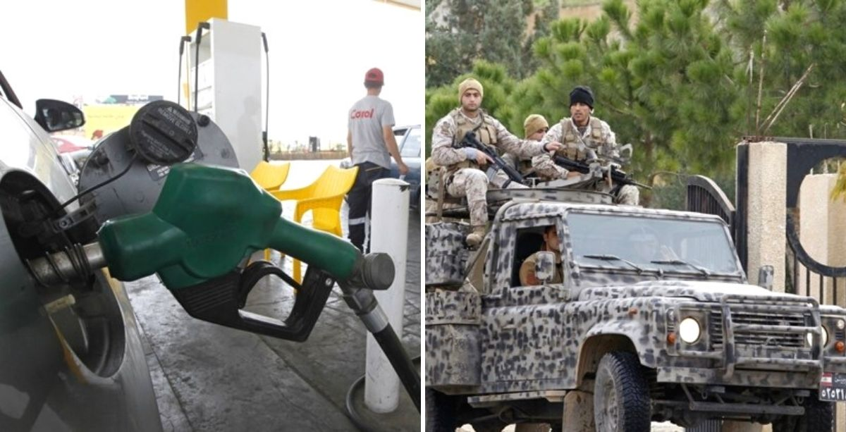 Lebanese Army Gives 2 Million Liters Of Its Fuel Reserve To Fuel Stations
