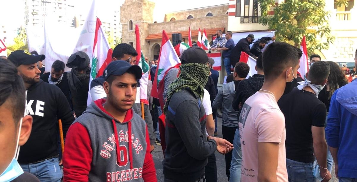 Lebanese Protesters Demand Reforms Aboard The 'Train Of The Revolution