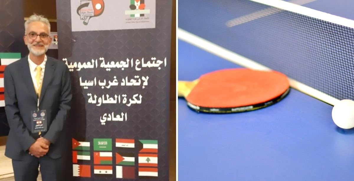 Meet The New Lebanese Vice-President Of West Asia Table Tennis Union