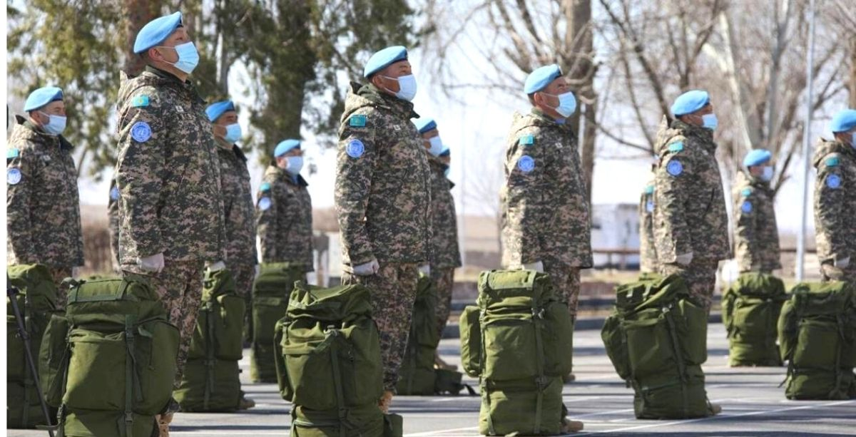 Over 100 Kazakhstani Troops Just Left For Lebanon To Join UNIFIL