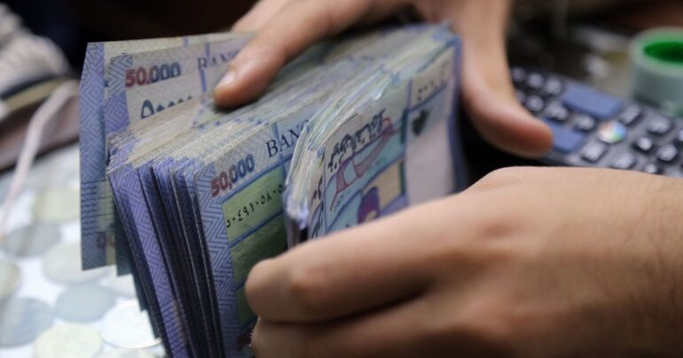 The Lebanese pound gained considerable momentum against the U.S. dollar on the black market following the formation of the new government on Friday afternoon.