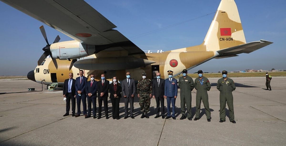 2 Of 8 Moroccan Aid Planes Just Landed In Beirut With 22 Tonnes Of Food