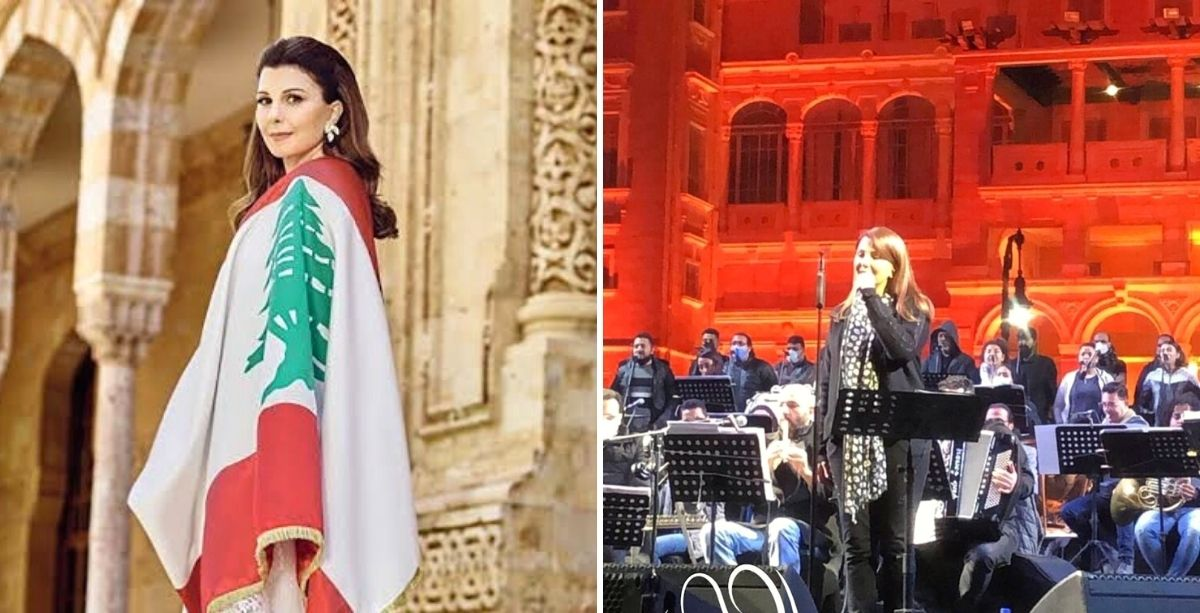 Beirut Brings Majida El-Roumi To Tears During Egypt Concert