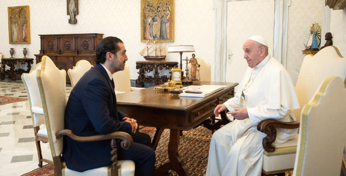 Hariri Says The Pope's Message Is To Accelerate Gov't Formation In Lebanon
