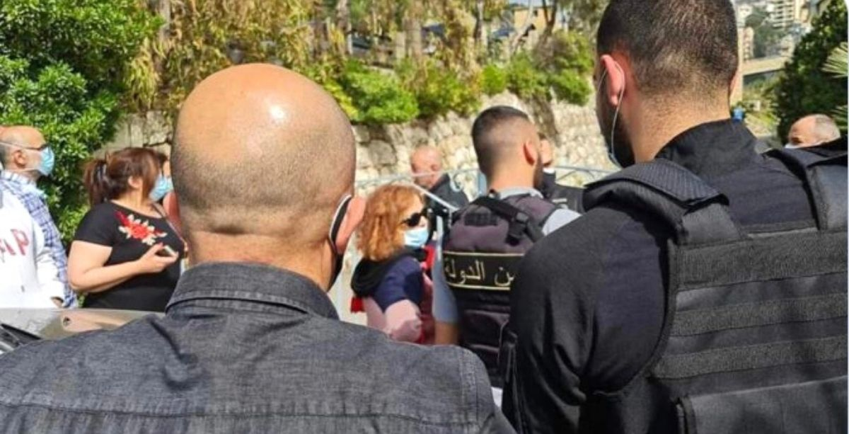 Judge Ghada Aoun Forces Her Way Into The Mecattaf Building Again