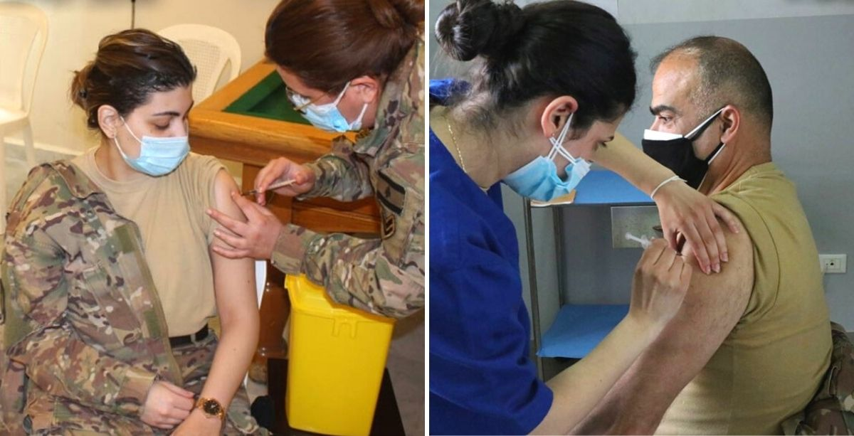 Lebanese Army Just Launched Its Vaccination Campaign