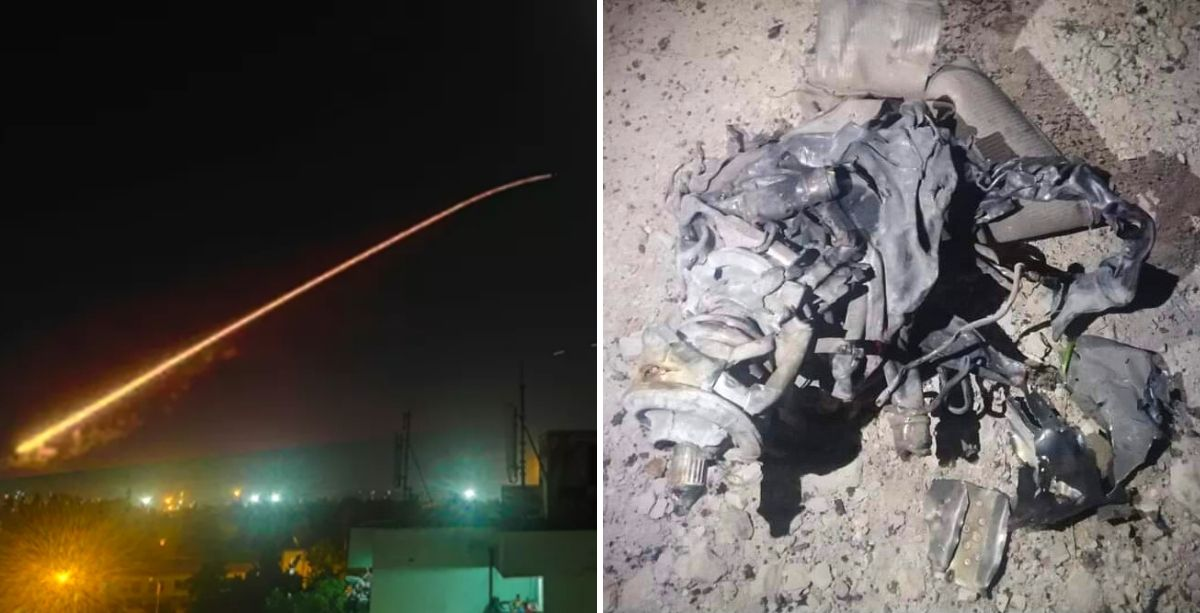 Syrian Missile Crashes In Lebanon After Israeli Attack From Lebanese Airspace