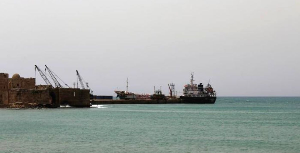 An Old Shell Exploded At The Port Of Sidon