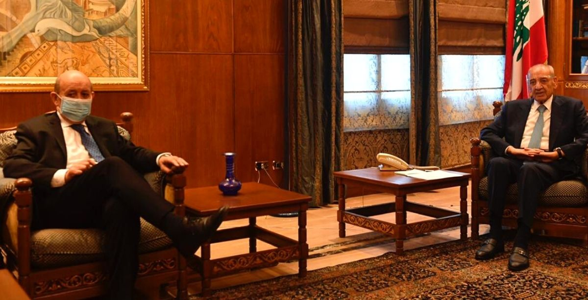 French Foreign Minister Met With Speaker Berri - Left Without A Statement After 30 Minutes